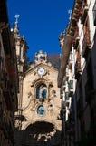 Donostia,圣塞瓦斯蒂安,比斯开湾,巴斯克地区,西班牙,欧洲 免版税库存照片