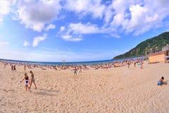 The Donostia La Concha beach Stock Photo