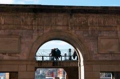 Donostia, San Sebastián, das Golf von Biscaya, Baskenland, Spanien, Europa Lizenzfreies Stockbild