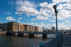 Donostia, San Sebastián, el Golfo de Biscaya, país vasco, España, Europa Imagen de archivo libre de regalías