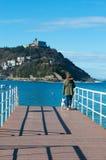 Donostia, San Sebastian, Βισκαϊκός κόλπος, βασκική χώρα, Ισπανία, Ευρώπη Στοκ φωτογραφίες με δικαίωμα ελεύθερης χρήσης