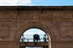 Donostia, San Sebastian, Бискайский залив, Баскония, Испания, Европа Стоковое Изображение
