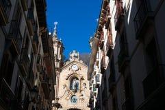 Donostia, San Sebastian, Бискайский залив, Баскония, Испания, Европа Стоковая Фотография RF