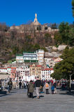 Donostia, San Sebastian, Бискайский залив, Баскония, Испания, Европа Стоковое Фото