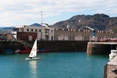 Donostia, San Sebastian, Бискайский залив, Баскония, Испания, Европа Стоковые Изображения