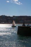 Donostia, San Sebastian, Бискайский залив, Баскония, Испания, Европа Стоковые Фотографии RF