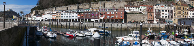 Donostia San Sebastian, Bay of Biscay, baskiskt land, Spanien, Europa Royaltyfria Foton