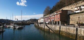 Donostia San Sebastian, Bay of Biscay, baskiskt land, Spanien, Europa Fotografering för Bildbyråer