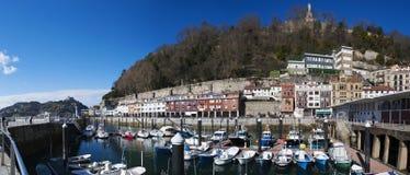 Donostia San Sebastian, Bay of Biscay, baskiskt land, Spanien, Europa Arkivfoton