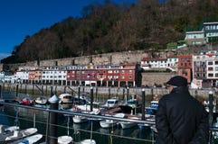 Donostia San Sebastian, Bay of Biscay, baskiskt land, Spanien, Europa Arkivfoto