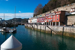 Donostia San Sebastian, Bay of Biscay, baskiskt land, Spanien, Europa Royaltyfria Bilder