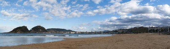 Donostia, San Sebastian, Bay of Biscay, Basque Country, Spain, Europe Stock Image
