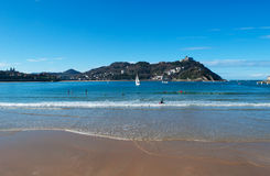 Donostia, San Sebastian, Bay of Biscay, Basque Country, Spain, Europe Stock Photos