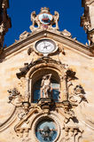 The Church of Saint Mary of the Chorus, details, baroque, San Sebastian, Bay of Biscay, Basque Country, Spain, Europe Royalty Free Stock Photo