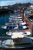 Donostia, San Sebastian, de Golf van Biskaje, Baskisch Land, Spanje, Europa royalty-vrije stock foto's