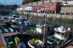 Donostia, San Sebastian, de Golf van Biskaje, Baskisch Land, Spanje, Europa stock afbeelding