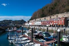 Donostia, San Sebastian, de Golf van Biskaje, Baskisch Land, Spanje, Europa stock foto