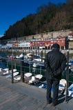 Donostia, San Sebastian, zatoka Biskajski, Baskijski kraj, Hiszpania, Europa Obraz Royalty Free