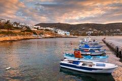 Donoussa island. Royalty Free Stock Photography