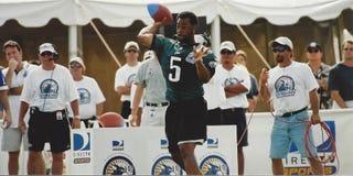 Donovan McNabb Philadelphia Eagles Royalty-vrije Stock Afbeeldingen