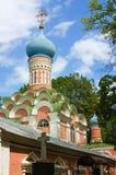 donskoy修道院莫斯科俄国 免版税库存图片