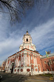 Donskoy Monastery. Medieval Russian churches on the territory. Moscow, Russia Stock Photography