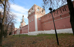Donskoy Monastery. Medieval Russian churches on the territory. Moscow, Russia Stock Photo