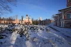 Donskoy Monastery. Royalty Free Stock Image