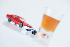 Dont drink and drive concept Royalty Free Stock Photography