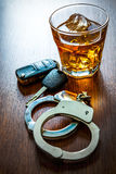 Dont drink and drive Stock Photos