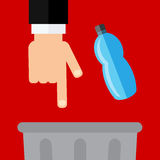 Dont litter icon. This is dont litter icon design.  file Stock Image