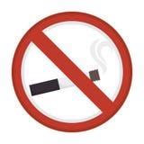 Dont smoke sign icon. Illustration design Royalty Free Stock Photos
