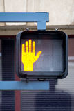 Dont Walk Sign Stock Photography