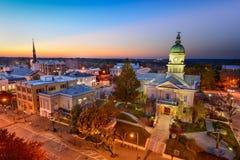 Dontown Athens Georgia Royalty Free Stock Photo