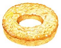 Donut. Sweet cake with sugar granules Stock Photo