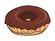 A donut Stock Image