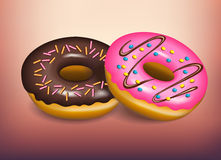Donut stock illustration