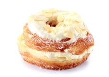 Donut, almond donut Stock Photography