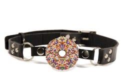 Donut ball gag Stock Photo