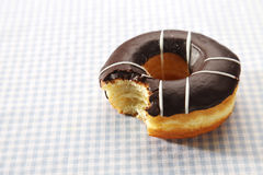 Donut Bite Stock Image