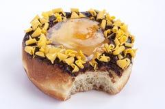 Donut bite Stock Images