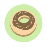 Donut Cake Dessert Sweet Food Icon Stock Photos