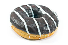 Donut in chocolate Stock Photo