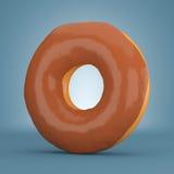 Donut in chocolate glaze Stock Photo