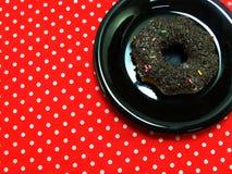 Donut chocolate Stock Photography