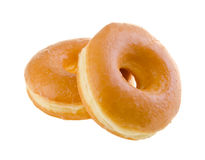 Donut. classic donut isolated on background stock photo