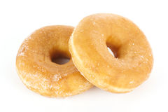 Donut coated with sugar Stock Photo