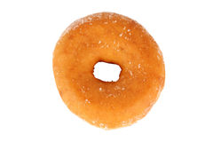 Donut coated with sugar Stock Images
