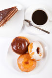 Donut and coffee Stock Photo