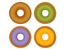Donut Collection. Vector File EPS10 Royalty Free Stock Image